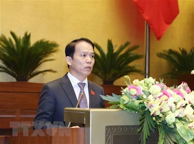 Chủ nhiệm Ủy ban Pháp luật của Quốc hội Hoàng Thanh Tùng. (Nguồn: TTXVN)