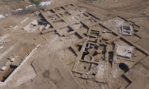 Tàn tích xưởng nước mắm 2.000 năm tuổi của người La Mã. Ảnh: BBC.