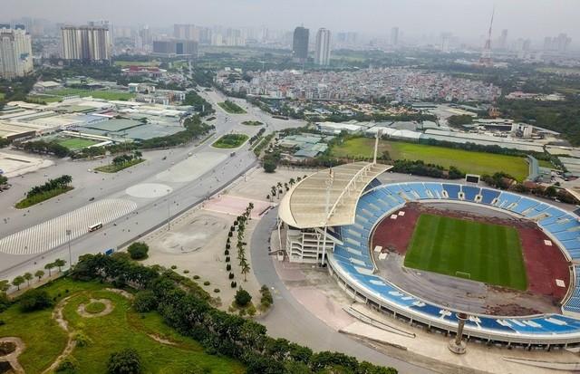 Đường đua F1 tại Hà Nội sắp được hoàn thành (Ảnh: Internet).