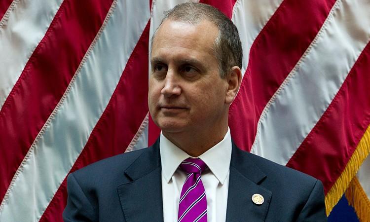 Nghị sĩ Mario Diaz-Balart tại một sự kiện ở Washington tháng 12/2018. Ảnh: AP.