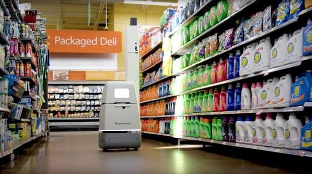 Robot tại một siêu thị của Walmart. (Nguồn: forbes.com).