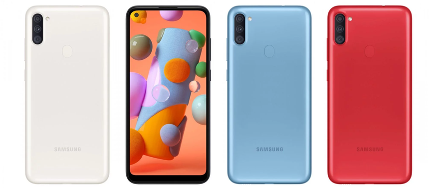 Samsung Galaxy A11 mở bán ở Việt Nam: Smartphone giá rẻ, cấu hình khủng phù hợp cho giới trẻ