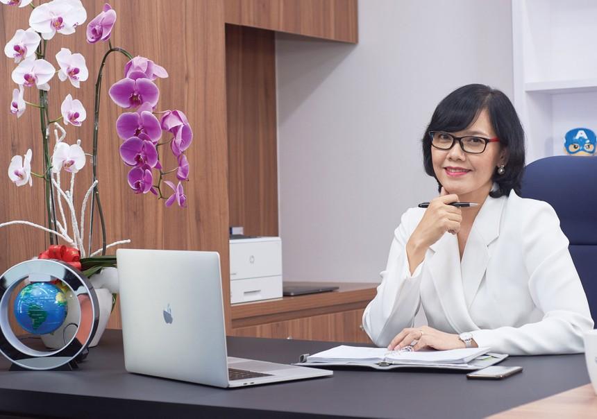 Bà Nguyễn Phương Mai, Thành viên Hội đồng quản trị Tập đoàn Navigos Group kiêm Giám đốc điều hành đơn vị tuyển dụng nhân sự cấp cao Navigos Search.