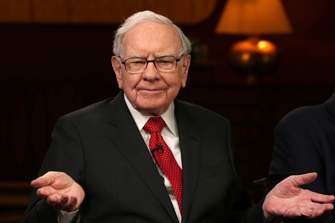 Tỷ phú Warren Buffet. Ảnh: CNBC.