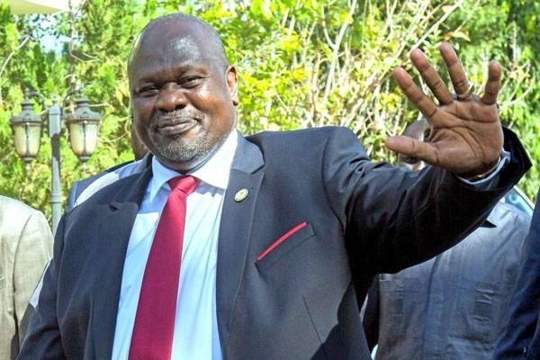 Phó Tổng thống thứ nhất của Nam Sudan, ông Riek Machar. (Nguồn: nation.co.ke).