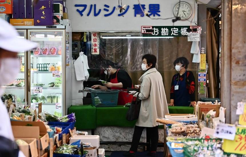 Một cửa hàng tạp hóa ở Tokyo, Nhật Bản. (Ảnh: AFP/TTXVN).