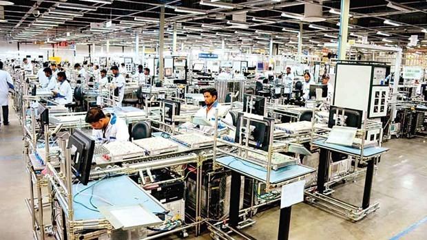 Nhà máy Foxconn tại Ấn Độ. (Ảnh: Foxconn).