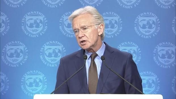 Người phát ngôn IMF Gerry Rice. (Ảnh: IMF).