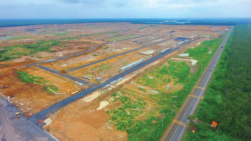 Toàn cảnh Khu tái định cư Sân bay Long Thành.
