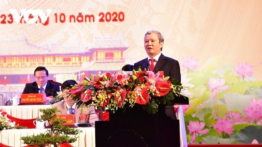 Ông Lê Trường Lưu tái đắc cử Bí thư Tỉnh ủy Thừa Thiên Huế, nhiệm kỳ 2020-2025.