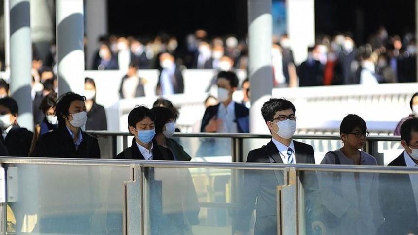 Thủ đô Tokyo (Nhật Bản) lên kế hoạch nâng cảnh báo Covid-19 lên mức cao nhất. Ảnh: Anadolu.