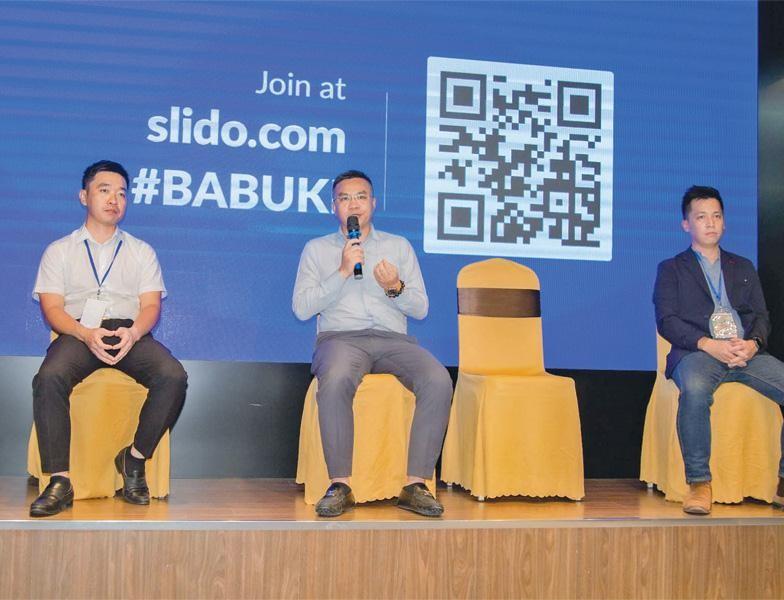 Các diễn giả chia sẻ tại Hội thảo Khởi nghiệp ngành F&B - Xu hướng chuyển dịch mô hình kinh doanh và đầu tư, tại TP.HCM.