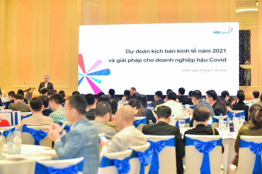 Hội thảo Dự đoán kịch bản kinh tế 2021 và giải pháp cho doanh nghiệp hậu Covid.