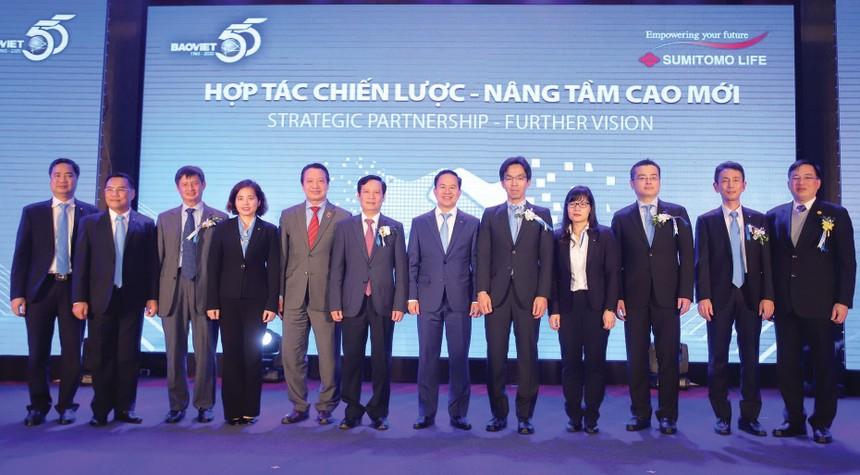 Sumitomo Life hiện nắm giữ 22,09% cổ phần của Tập đoàn Bảo Việt.