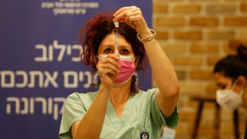 Chưa đầy 2 tuần, hơn 10% dân số Israel được tiêm vaccine ngừa Covid-19. Ảnh: Telegraph.