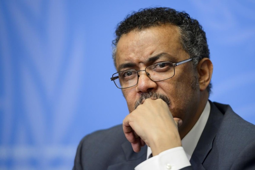 Người đứng đầu Tổ chức Y tế Thế giới (WHO) Tedros Adhanom Ghebreyesus. Ảnh: Getty.