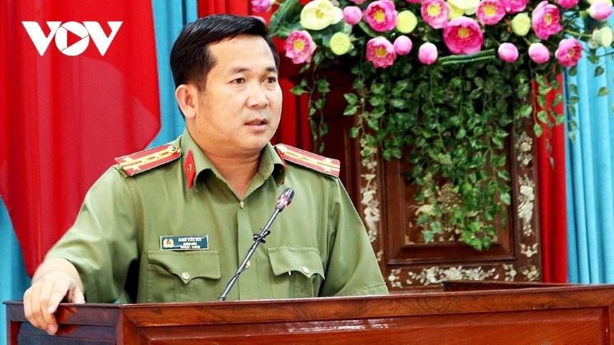Đại tá Đinh Văn Nơi, 45 tuổi, quê phường Long Hòa, quận Bình thủy, TP Cần Thơ.