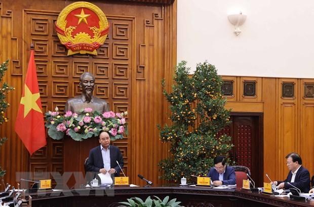 Thủ tướng Nguyễn Xuân Phúc phát biểu. (Ảnh: Thống Nhất/TTXVN).