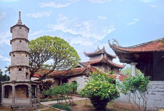 Chùa Bút Tháp ở Bắc Ninh. (Nguồn: Bacninh.gov.vn).