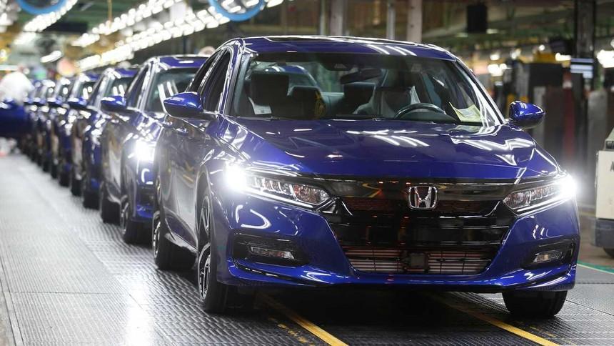 Honda phải tạm dừng các nhà máy sản xuất ô tô ở Bắc Mỹ