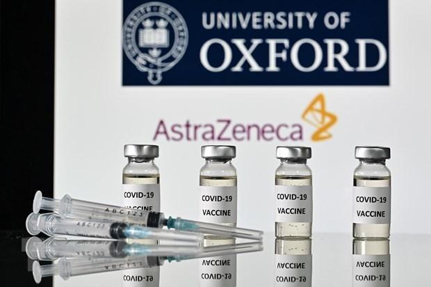 Vaccine ngừa COVID-19 của AstraZeneca. (Ảnh: AFP/TTXVN).