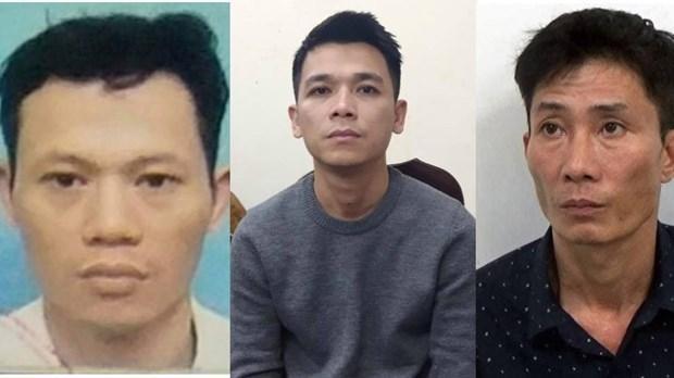 Các đối tượng Quý, Vũ, Ngọc. (Nguồn: hanoimoi.com.vn).