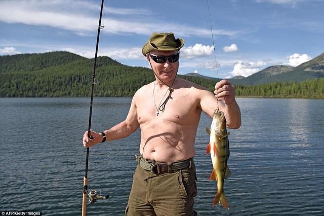 Tổng thống Nga Vladimir Putin (Ảnh: AFP).