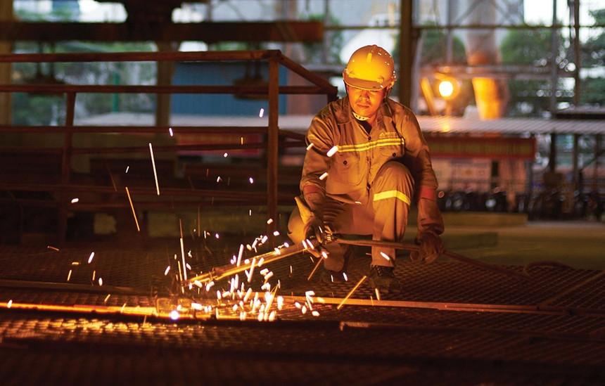 Giá bán và nhu cầu tiêu thụ thép gần đây tăng cao.