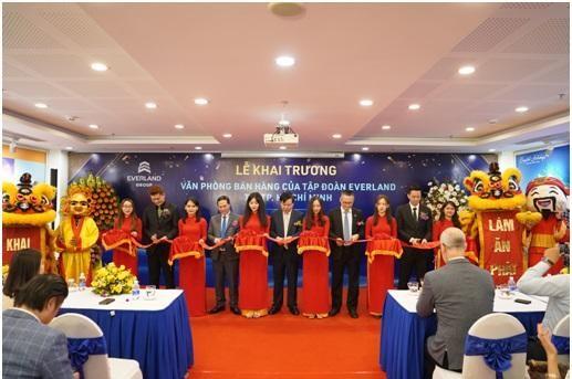 Lễ khai trương Văn phòng bán hàng Tập đoàn Everland tại TP. HCM.