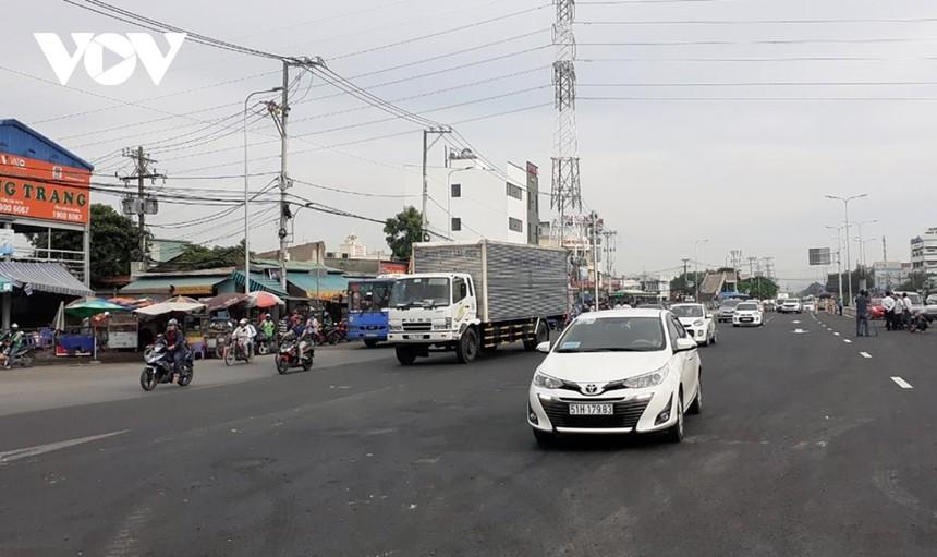 Cao tốc TP.HCM - Mộc Bài sẽ góp phần giảm tải cho tuyến Quốc lộ 22.