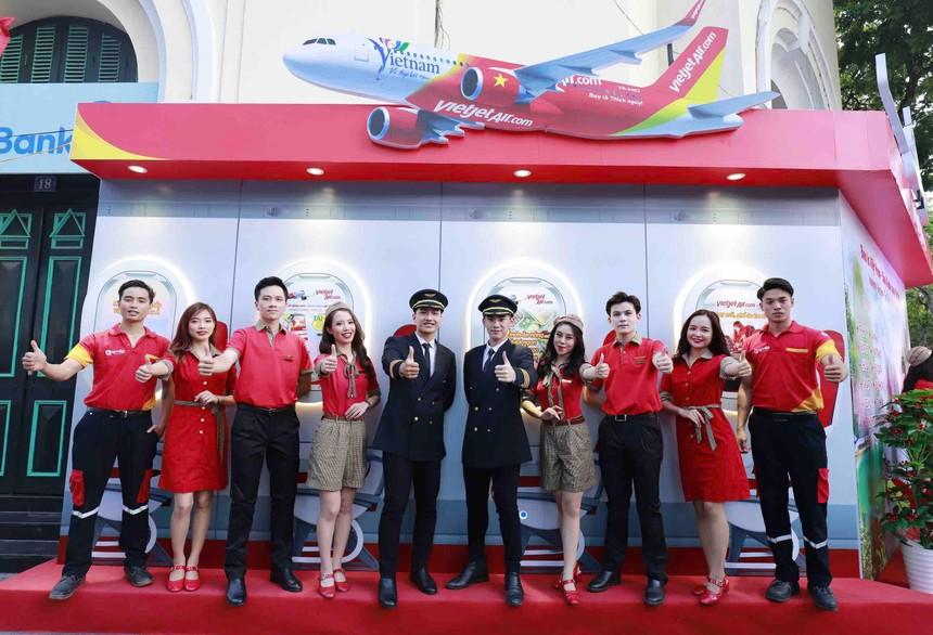 Tưng bừng chào đón Lễ hội kích cầu du lịch Hà Nội 2021, Vietjet tung gói kích cầu du lịch nội địa siêu hấp dẫn