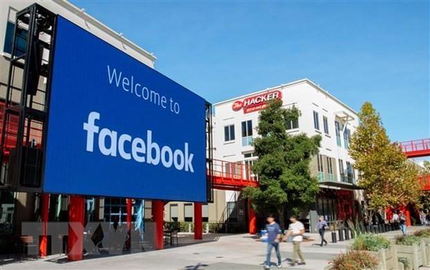 Trụ sở Facebook tại Menlo Park, California, Mỹ. (Ảnh: AFP/TTXVN).