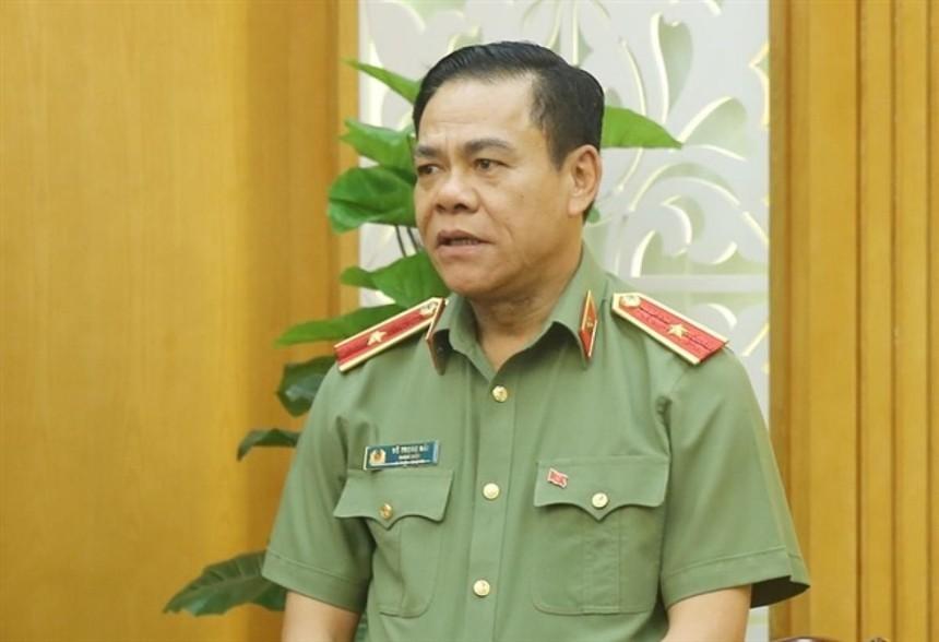 Thiếu tướng Võ Trọng Hải.