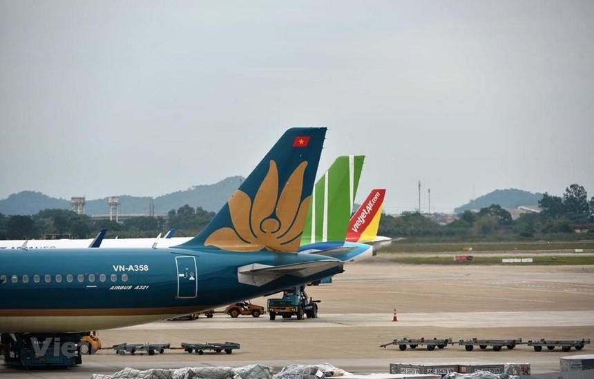 Các hãng hàng không đã tăng tải bay trong dịp nghỉ lễ 30/4 và 1/5. (Ảnh: CTV/Vietnam+).