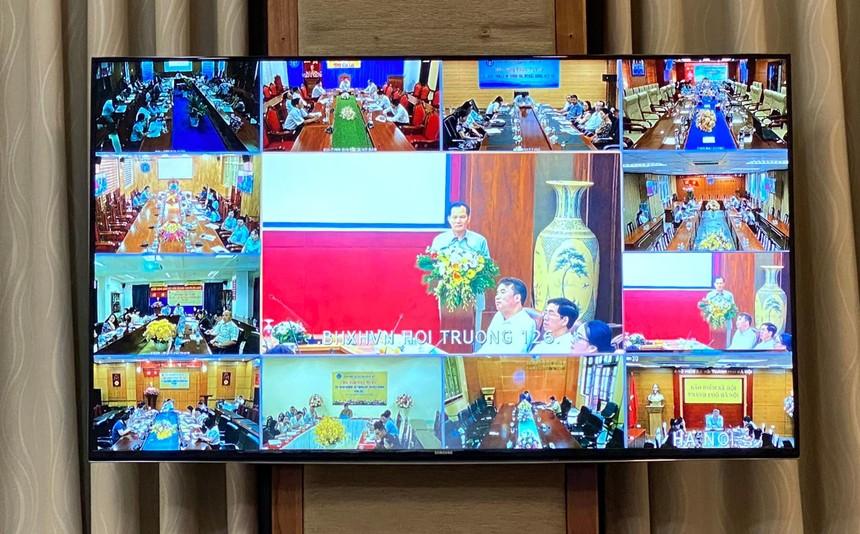 Hội nghị trực tuyến tập huấn nghiệp vụ thông tin, truyền thông năm 2021.