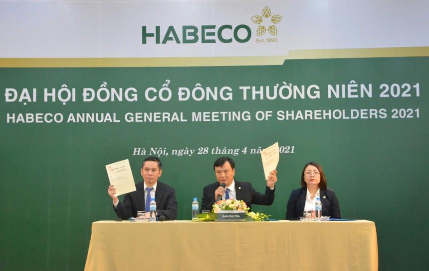 Đại hội đồng cổ đông Habeco (BHN) năm 2021: Kỳ vọng sớm về đích kế hoạch kinh doanh cả năm