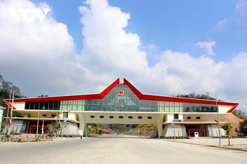 Cửa khẩu Quốc tế Hữu Nghị (huyện Cao Lộc, tỉnh Lạng Sơn), nơi chuyên gia người Trung Quốc nhiễm COVID-19 xuất cảnh ngày 28/4.