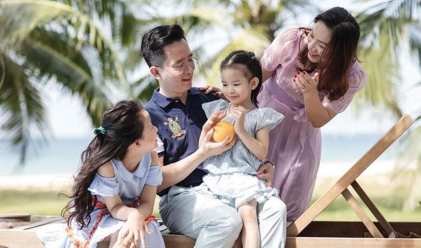 Trà My cùng gia đình trong chuyến du lịch Phú Quốc nhiều trải nghiệm.