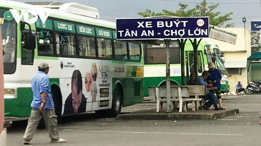 Thông tin lịch trình di chuyển và hành khách các bến xe tại Long An được kiểm soát chặt chẽ.
