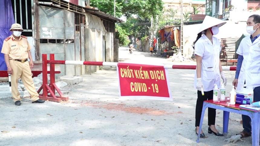 Vĩnh Phúc lập 9 chốt kiểm soát Covid-19 tại các tuyến đường trọng yếu vào tỉnh