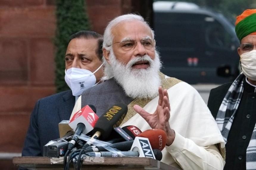 Thủ tướng Ấn Độ báo động dịch Covid-19 lan nhanh tại các vùng nông thôn. Ảnh: Bloomberg.