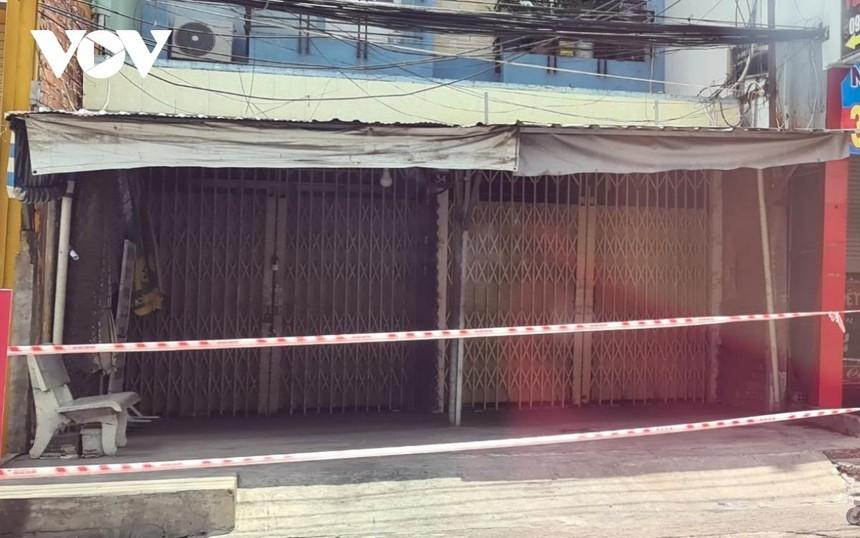 Khoanh vùng, cách ly 117 hộ dân thuộc khu vực chợ Phước Vân, ấp 4, xã Phước Vân, huyện Cần Đước.