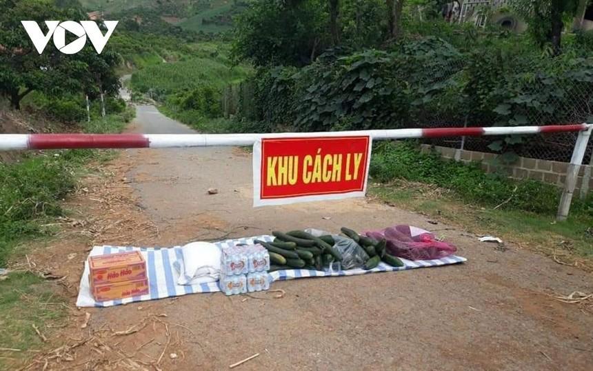 Chấm dứt hoạt động vùng cách ly y tế đối với xóm Mỏ Đồng, bản Nà Bó, xã Nà Bó, huyện Mai Sơn, tỉnh Sơn La vào lúc 00h00' ngày 7/6.