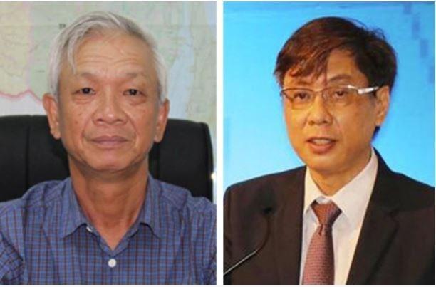 Ông Lê Đức Vinh (phải) và ông Nguyễn Chiến Thắng. (Nguồn: Baochinhphu.vn).