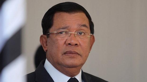 Thủ tướng Campuchia Hun Sen. (Nguồn: cgtn.com).