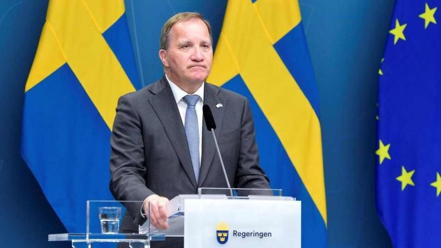 Thủ tướng Thụy Điển Stefan Lofven. Ảnh: Reuters.