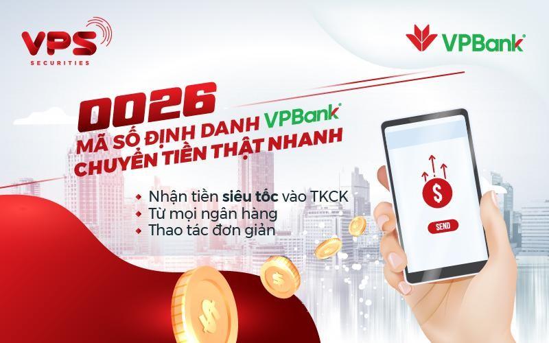 VPS hợp tác cùng VPBank ra mắt tài khoản định danh 0026 mang đến nhiều lợi ích cho khách hàng.