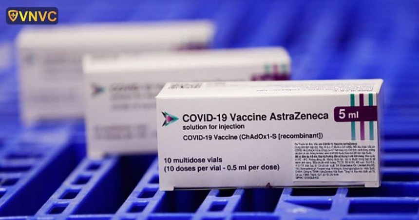 Bộ Y tế vừa có quyết định phân bổ gần 3 triệu liều vaccine AstraZeneca. (Ảnh: VNVC).