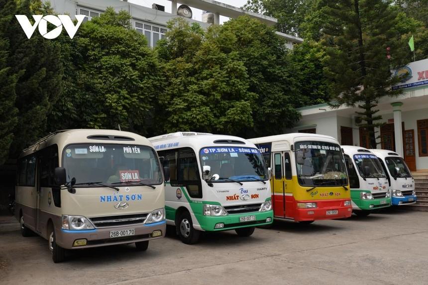 Tạm dừng hoạt động vận tải hành khách đi, đến địa bàn huyện Phù Yên, tỉnh Sơn La.