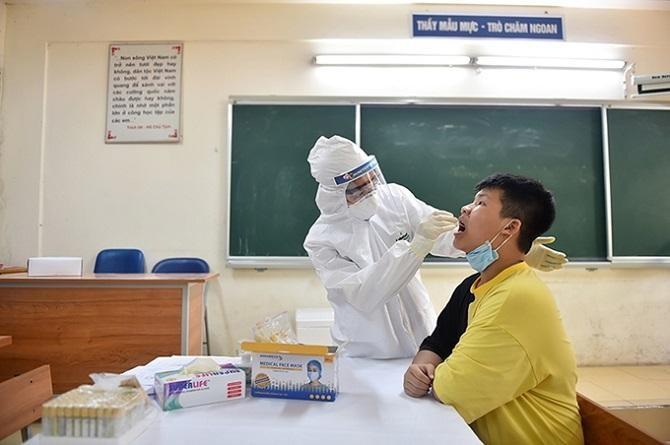 Tối 2/8, Hà Nội chỉ có thêm 1 trường hợp dương tính với Covid-19, nâng tổng số ca nhiễm trong ngày lên 98 ca